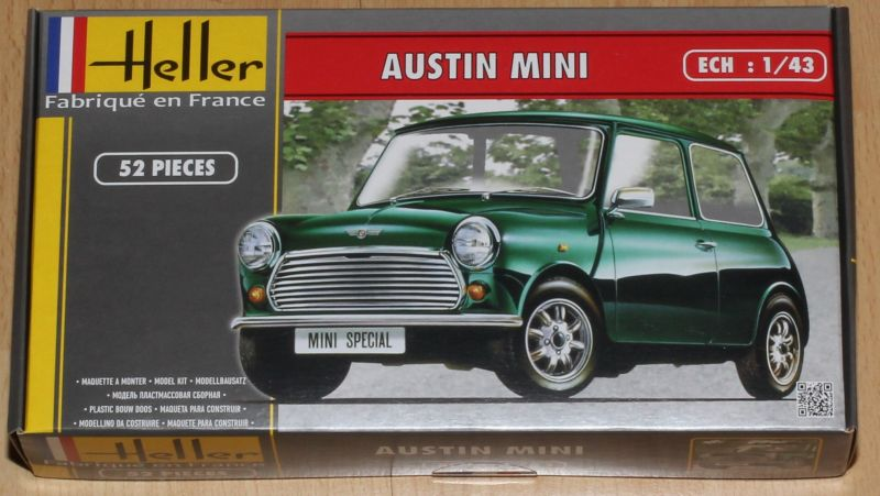 Heller 80153 Austin Mini 1:43
