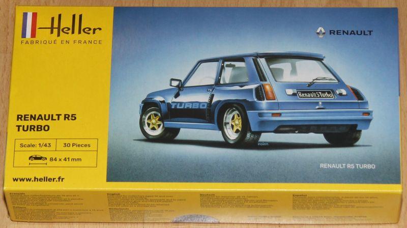 Heller 80150 Renault R5 Turbo 1:43