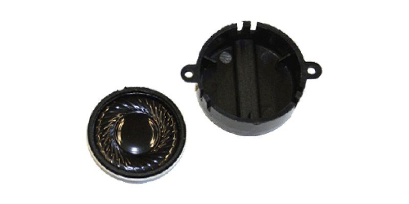 50443 Lautsprecher 28mm, rund, 100 Ohm, mit Schallkapsel