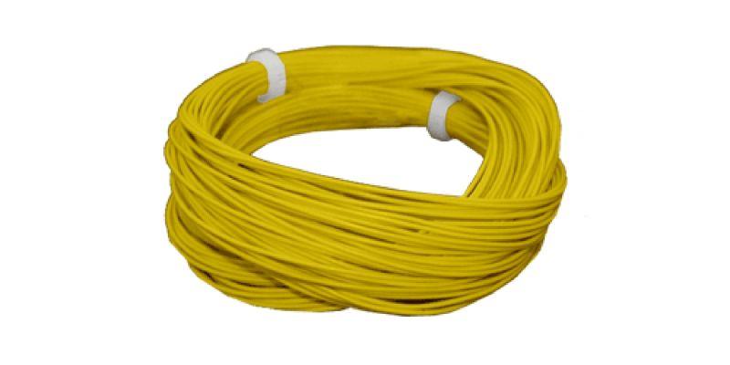 51947 Hochflexibles Kabel gelb