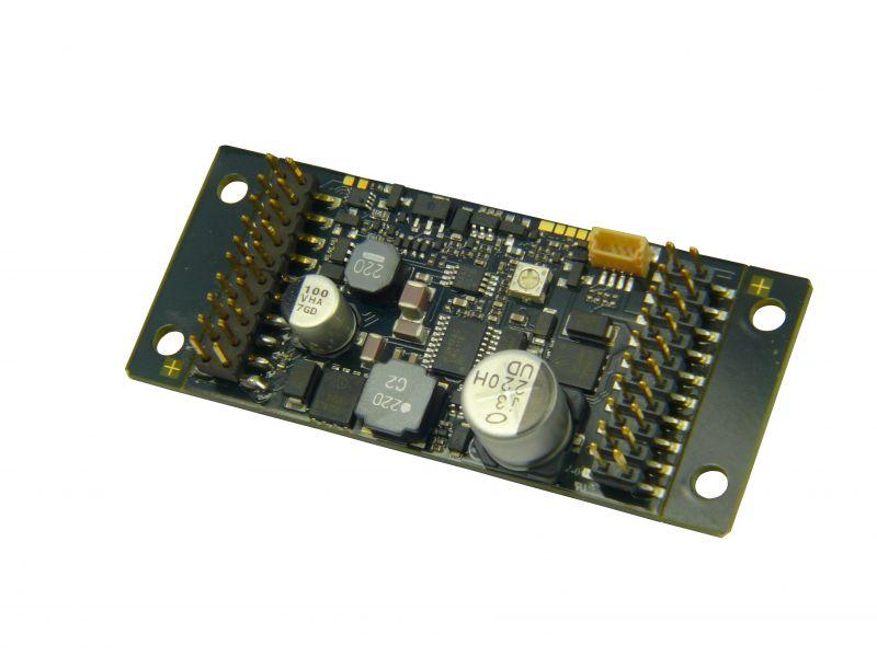 MX696V Großbahn-Sound-Decoder- Energiesp.-Ansch.- 55 x 29 x 15 mm - 4A